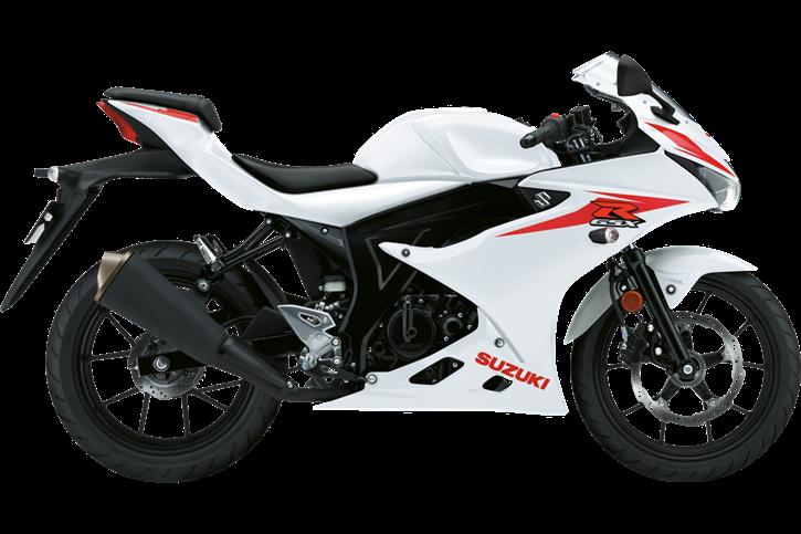 GSX-R 125 Λευκό