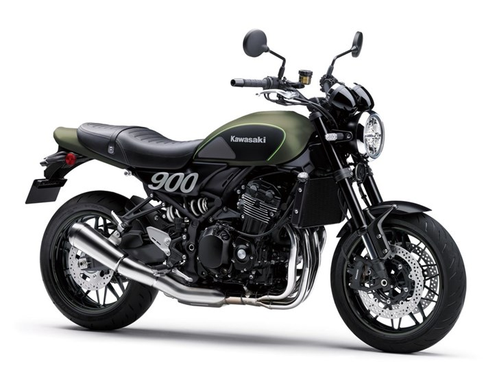 Z900RS Green (Metallic Matte Covert Green / Flat Ebony)