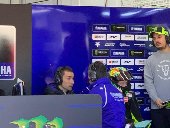 O David Munoz στην ομάδα της Yamaha