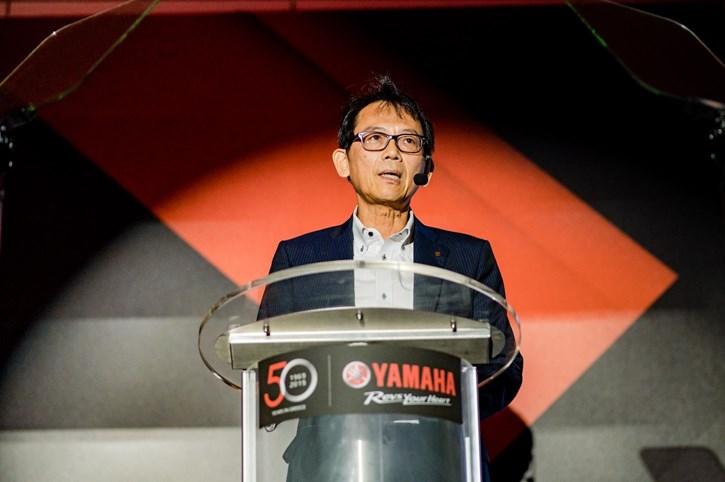 O κος. Katsuaki Watanabe, Executive Vice President & Representative Director της Yamaha Motor Co. Ltd.