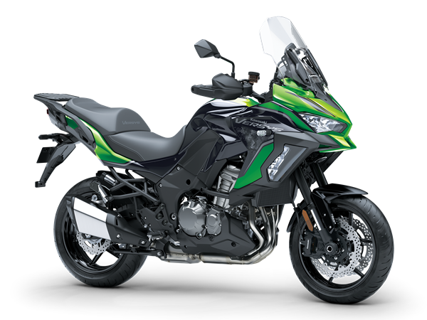 Versys 1000 S - Emerald Blazed Green / Metallic Diablo Black / Metallic Flat Spark Black