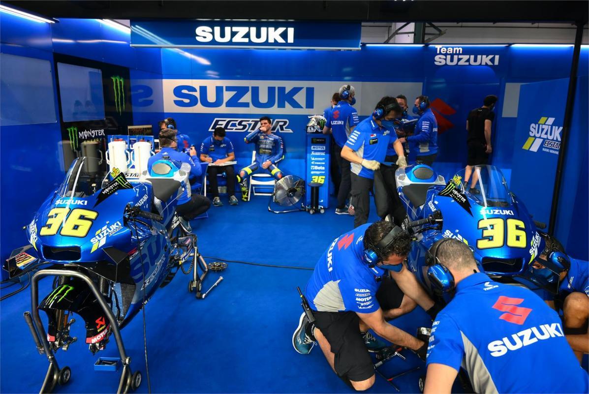 MotoGP - Video: Η Suzuki στο τεστ του Qatar!
